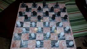 14 in. Marble Chess Board Set in Fort Campbell, Kentucky