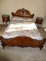 Antique 5 piece bedroom set louis xvi style in Alamogordo, New Mexico