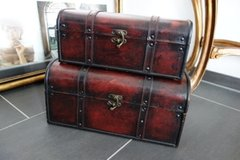 Leather covered chests in Stuttgart, GE