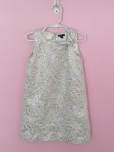 Baby Gap Girl Dress Silver 5t in Chicago, Illinois