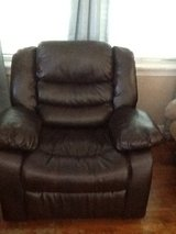 Leather Recliner in Baytown, Texas