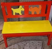 Kids Wood Bench From Ikea in Naperville, Illinois