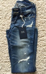 Girls Abercrombie Jeans-Size 8 in Plainfield, Illinois