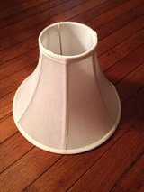 Cream ivory lamp shade in Bartlett, Illinois