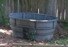 Rubbermade Trough, Pool, Pond in Kingwood, Texas