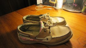 Sperry Bluefish boat shoes.  Fits 7 - 7.5 in Lockport, Illinois