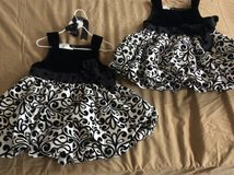 2 matching Mud Pie dresses 2T-3T in Houston, Texas