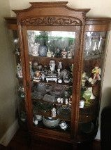 Oak China Cabinet and more in Fort Benning, Georgia