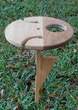 Handmade Portable Wine Table in Beaufort, South Carolina