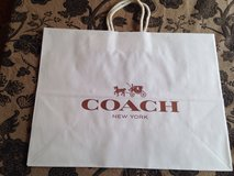 Paper Coach Shopping Bags in Oswego, Illinois