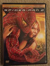 Spiderman 2 DVD Wide screen special edition in Houston, Texas