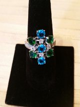 Sterling Silver Multi- Gem Ring in Warner Robins, Georgia
