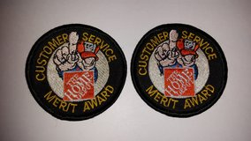 Home Depot Merit Award Badges in Naperville, Illinois
