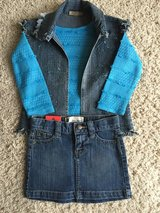 Girls Denim Outfit-Size 4/4T in Chicago, Illinois