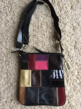 Authentic Coach Patchwork Messenger Crossbody Bag in Oswego, Illinois