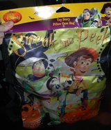 NEW Toy Story Trick Or Treat Halloween Candy Treating Pillow Case Bag Sack Buzz Woody in Kingwood, Texas