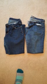 2 pairs sz14 short old Navy jeans in El Paso, Texas