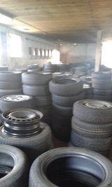 winther/summer  tires  used and steel rims most si in Hohenfels, Germany