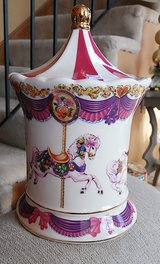 Teleflora Carousel Horse Music Box Canister Limited Edition ***RETIRED*** in Aurora, Illinois