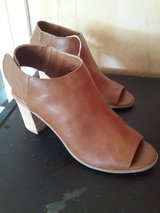 NEW WITH TAGS PEEP TOE BOOTIES in Fairfield, California