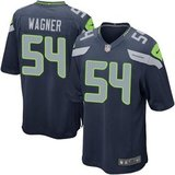 BOBBY WAGNER Seahawk Blue Stitched Nike NFL Adult L & XL Jersey's (NEW) in Tacoma, Washington