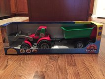 NIB Bruder Tractor with Trailer in Plainfield, Illinois