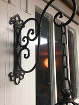 Wall lantern with candle in Tinley Park, Illinois