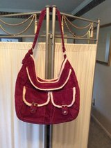 ***BRAND NEW***Burgundy Sherpa Handbag/Purse*** in The Woodlands, Texas
