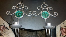Iron / Green Candle Holder Set in Fort Campbell, Kentucky