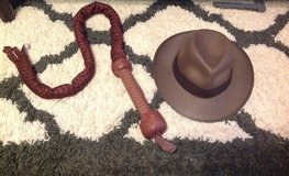 Indiana Jones Hat and Sound Fx Whip Set in Columbus, Georgia