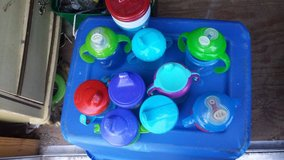 Bag of sippy cups in Houston, Texas