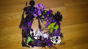 Skeleton wreath in Spring, Texas
