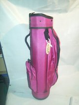 NICE DATREK GOLF BAG PURPLE,,,GREAT FOR TRAVEL in Chicago, Illinois