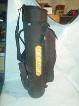 NEW DATREK GOLF BAG,Dark brown brand new in Chicago, Illinois