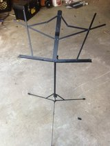 Music stand in Houston, Texas