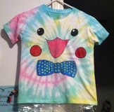 Boy or Girl Clothing Pokemon Pikachu Tie Dye Tee Shirt with a Bow Tie in Cary, North Carolina