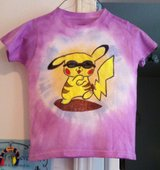Kids Pikachu Tie Dye Design Tshirt in Cary, North Carolina