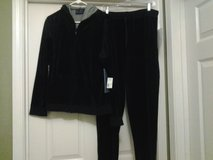 *NEW* Hooded Velour Jacket & Pants (Navy Blue) in Eglin AFB, Florida
