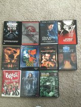 Lot of DVDs, can take all or willing to seperate in Lockport, Illinois