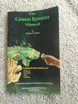 The green iguana manual updated information on behavior breeding diet and disease in Lockport, Illinois