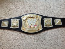 WWE Spinning Title Belt in Camp Lejeune, North Carolina