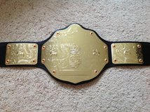 W.C.W. World Title Belt in Camp Lejeune, North Carolina