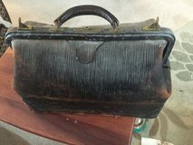 Vintage/collectible genuine cowhide Doctor/physician bag in Naperville, Illinois