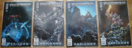 Transformers Defiance Comics in Los Angeles, California