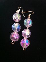 Earrings disco balls in Baumholder, GE