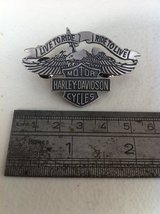 Harley Davidson pin Live to ride ride to live in Baumholder, GE