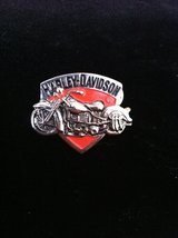 Harley Davidson pin in Ramstein, Germany