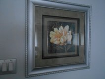 Framed Flowered Wall Picture in The Woodlands, Texas