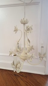 mini chandelier antique white in Joliet, Illinois