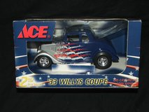 ACE Stores '33 Willys Coupe Die Cast Metal Bank NEW IN BOX in Bolingbrook, Illinois